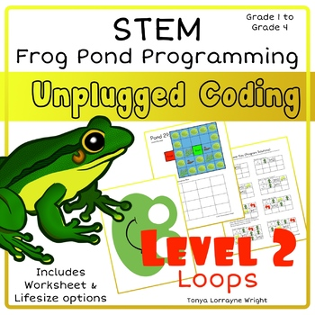 Frog Programming: Level 2 Loops - A STEM Coding Activity