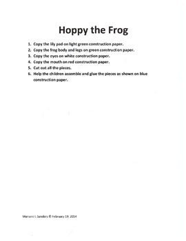 Frog Projects for a Week