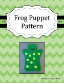 Frog Puppet Pattern