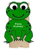 Frog Puppet or Valentine Treat Bag Pattern