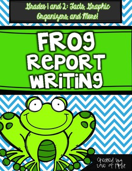 Frog Report Writing