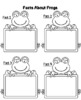 Frog Research Graphic Organizer