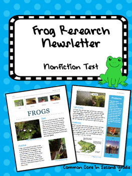 Frog Research Newsletter, Information Research Project, Nonfiction