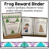 Frog Reward Binder (Positive Behavior Incentive Program)