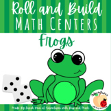 Frog Roll and Build Game