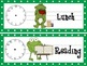 Frog Schedule Cards