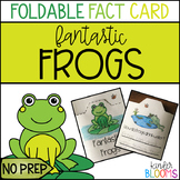 Frog Science Craft {Foldable Fact Card}