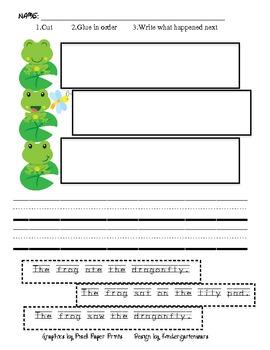 Frog Sequence Sentences