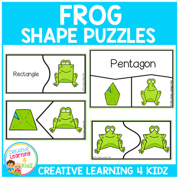 Frog Shape Puzzles