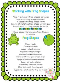 Frog Shapes Bundle