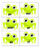 Frog Sight Word Game