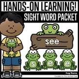 Frog Sight Word Packet
