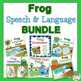 Frog Speech and Language Bundle