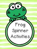 Frog Spinner Activities