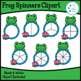 Frog Spinners Clipart