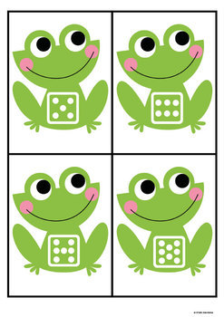Number and Subitizing Math Center Game