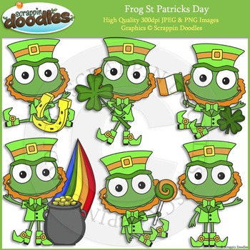 Frog St Patricks Day