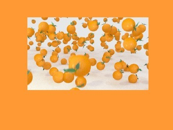 Frog Street Color Song PowerPoint - Orange