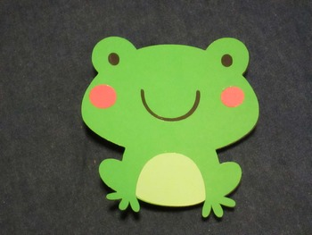 Frog Student Display Clips