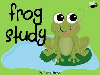 Frog Study with Life Cycle