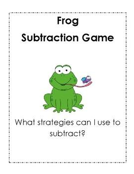 Frog Subtraction Game (under 10)