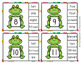 Frog Summer Number Word Match Clip Cards