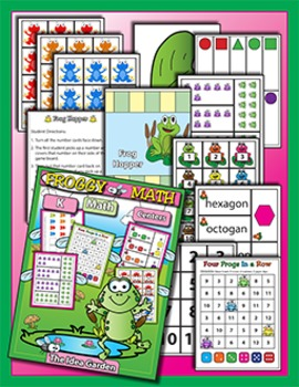 Frog THEMATIC Math (Kindergarten)