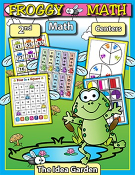 Frog THEMATIC Math (Second)