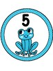 Frog Table Numbers 1-9
