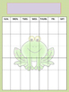 Frog Teacher Binder Set