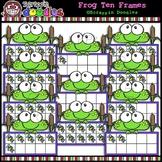 Frog Ten Frames