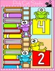 Frog Theme Accelerated Reader Chart - AR Clip Chart