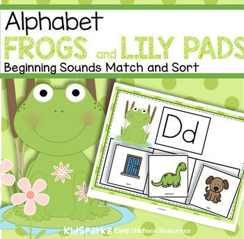 FROGS Beginning Sounds Center for Preschool, Pre-K and Kindergarten