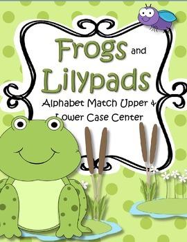 Frogs Alphabet Match