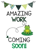 Frog Theme Amazing Work Freebie