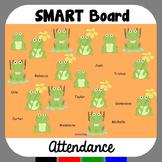 SMARTBoard Attendance Frogs