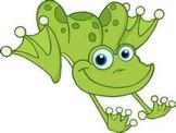 Frog Theme Attendance on Smartboard