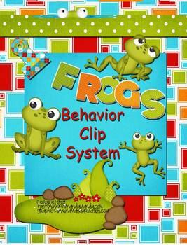 Frog Theme Behavior Cip Chart System