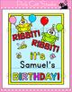 Birthday Board - Frog Theme Classroom Decor