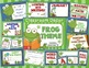 Frog Theme Bundle - Decor, Reading Posters, & Binder Covers