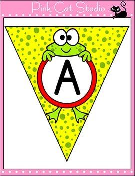 Frog Theme Bunting Set