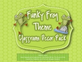 Frog Theme Classroom Decor Set