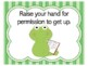 Frog Class Rules | Frog Theme Class Rules