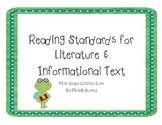 Frog Theme Common Core Reading Literature and Informationa