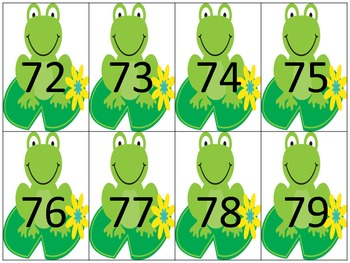 Frog Theme Math Center Game {Greater Than Less Than}