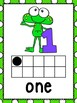 Frog Theme Numbers Posters 0-9
