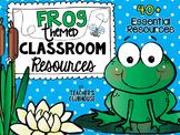 Frog Theme Decor Pack