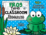Frog Theme Decor Pack