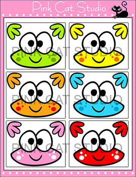 Frog Theme Cut-Outs Bulletin Board Decorations