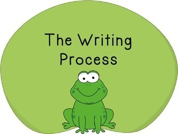 Writing Process Posters-Frog Theme